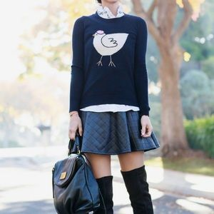J. Crew French Hen Intarsia Sweater